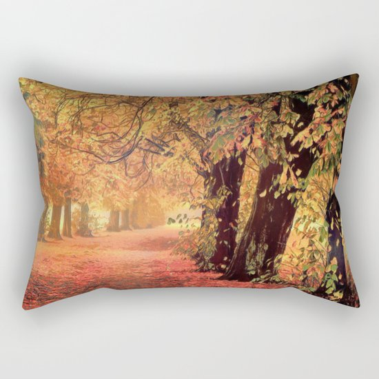 Autumn - the leaves are falling Rectangular Pillow