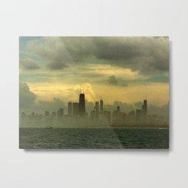 Foggy Michigan Sea #5 Metal Print