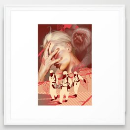 Contagion Framed Art Print