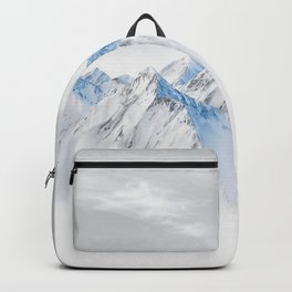 Snow Capped Mountains Backpack