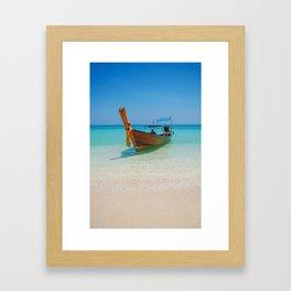 Bamboo Island Framed Art Print
