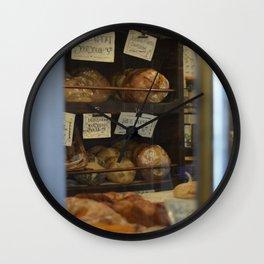 Breads Wall Clock
