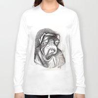 steve mcqueen Long Sleeve T-shirts featuring McQueen by Mark Holden