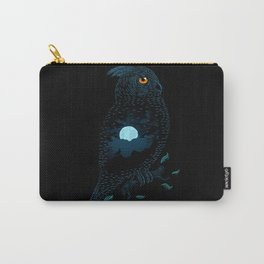 The Owl and the Forest Carry-All Pouch