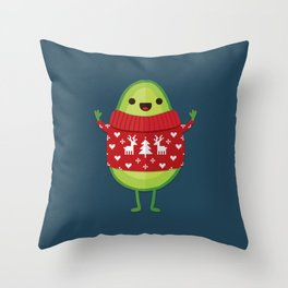 AVO MERRY CHRISTMAS Throw Pillow