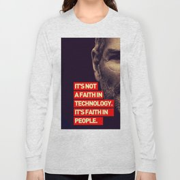 Office SteveJobs Quote Long Sleeve T-shirt