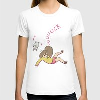 puppycat T-shirts featuring uuuuuck by Oh My Dog!