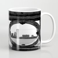 boston Mugs featuring Boston by Gold Street Photography