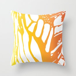 Cannery Row Butterfly Throw Pillow