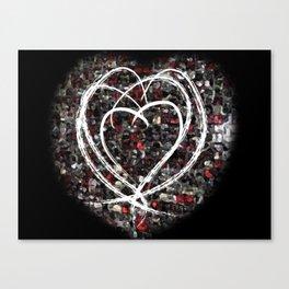 lovex4 Canvas Print