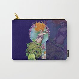 Mermaid Pinup Carry-All Pouch
