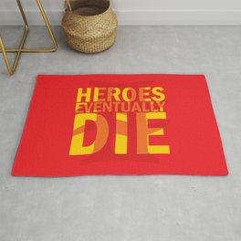 Heroes Eventually Die Rug