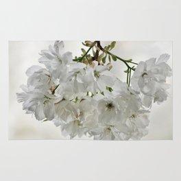 SPRING BLOSSOMS - IN WHITE - IN MEMORY OF MACKENZIE Rug