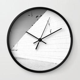 Shadows birds Wall Clock