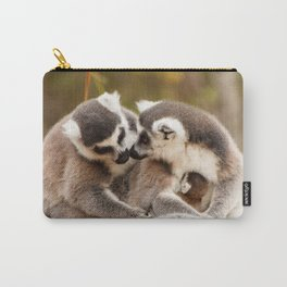Family Ring tailed Lemurs Madagascar Carry-All Pouch
