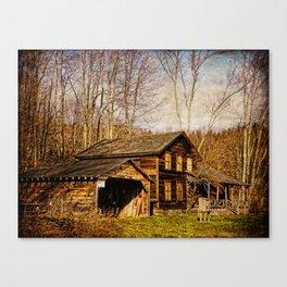John Burroughs Woodchuck Lodge Canvas Print