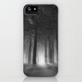 Soul of the Forest B&W iPhone Case