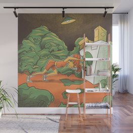 Wash Day Wall Mural