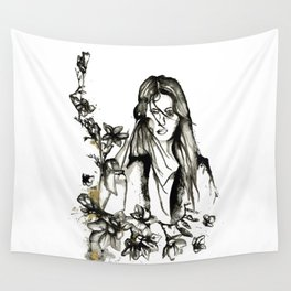Encre de Chine Wall Tapestry