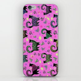 Fabulous Snobby Cats 3 iPhone Skin