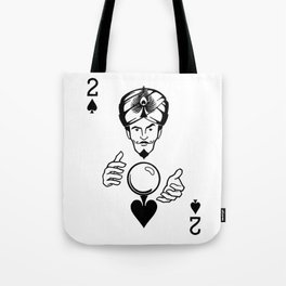 Sawdust Deck: The 2 of Spades Tote Bag