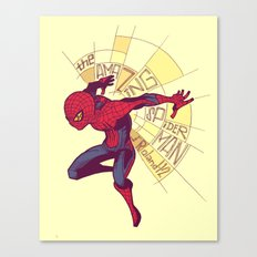 The Amazing Spider-Man: Day Break Canvas Print