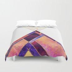 Tipi Mountain Duvet Cover