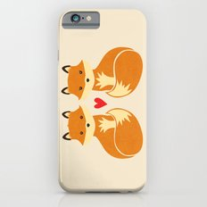 Love foxes iPhone 6s Slim Case