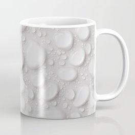 Water Drop White Water Balls Abstract Pattern Coffee Mug