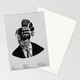 Hannibal Lecter Phrenology Stationery Cards