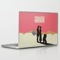 princess bride Laptop & iPad Skins featuring The Princess Bride by mattranzetta