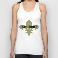 resident evil Tank Tops featuring Resident by anto harjo