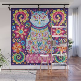 Zen Cat Wall Mural