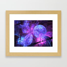 Inside The Black Hole Framed Art Print