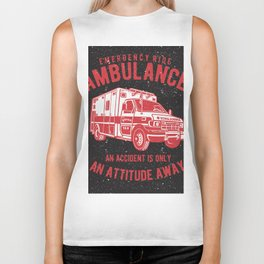 Ambulance Rescue Squad Biker Tank