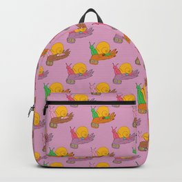 Check My Snails Backpack
