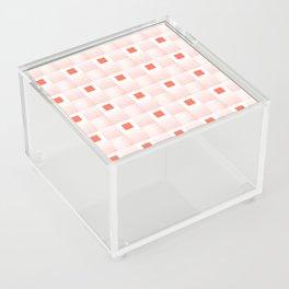 Rachel's Wavy Coral Pattern Acrylic Box