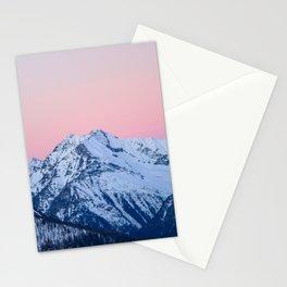 Pinkish sky Stationery Cards