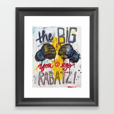 Big Rabatz Framed Art Print