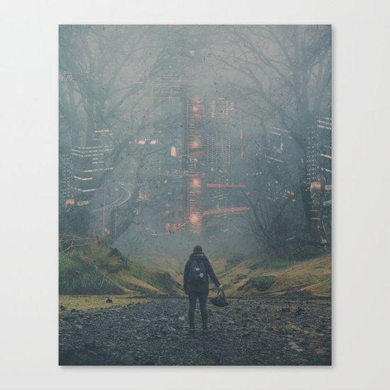 Digital Forest Canvas Print