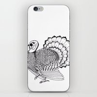 turkey iPhone & iPod Skins featuring Turkey by Martin Stolpe Margenberg