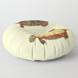 Naturalist Turtle Floor Pillow