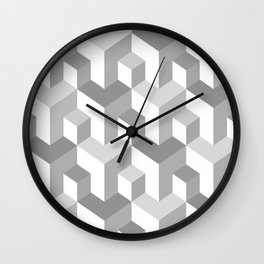Seamless abstract pattern Wall Clock