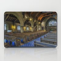 christ iPad Cases featuring Christ Church by Ian Mitchell