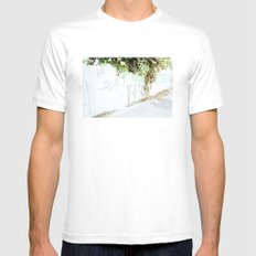 Plantas SMALL White Mens Fitted Tee