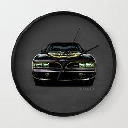 The Firebird Trans AM Wall Clock