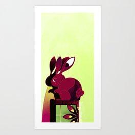 Usagi no Kompanion Art Print
