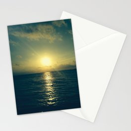 Even the end is beautiful Stationery Cards