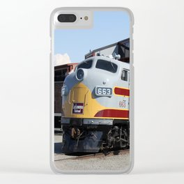 Engine 664 Lakawanna Railroad Clear iPhone Case