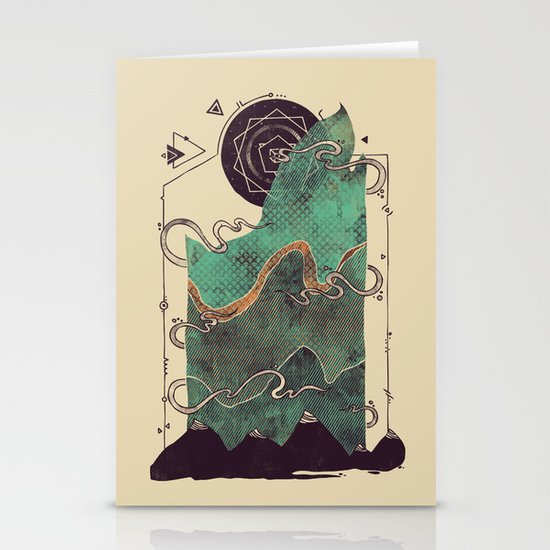Northern Nightsky Stationery Cards
